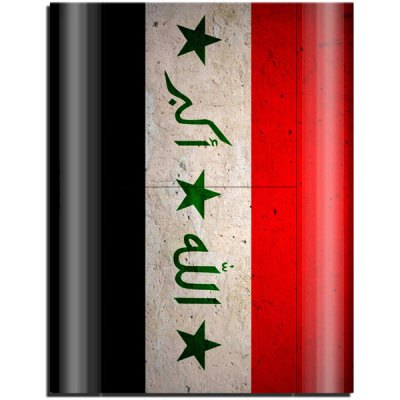 Гаджет   Iraq Flag Design Game Console Gamepad Full Body Sticker for PS3 Slim 4000 Video Game