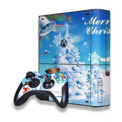 Christmas Tree Style Game Console Gamepad Controller Stickers Skin for Xbox 360EGame Accessories<br>Christmas Tree Style Game Console Gamepad Controller Stickers Skin for Xbox 360E<br><br>Compatible with: Xbox 360E<br>Features: Sticker<br>Product Weight: 0.055 kg<br>Package Weight: 0.100 kg<br>Product Size: 26.8 x 24 x 0.4 cm / 10.53 x 9.43 x 0.16 inches<br>Package Size: 33 x 27.6 x 1 cm / 12.97 x 10.85 x 0.39 inches<br>Package Contents: 2 x Body Sticker, 2 x Handle Sticker