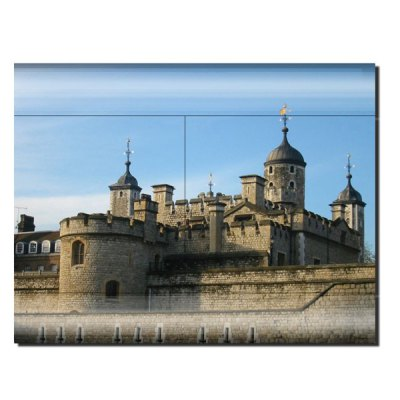 Гаджет   Tower of London Style Game Console Gamepad Controller Stickers Skin for PS3 Slim 4000 Video Game
