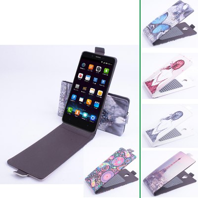 Гаджет   Vertical Painting Flip PU Protective Case for Elephone P6000 Smartphone Cell Phones