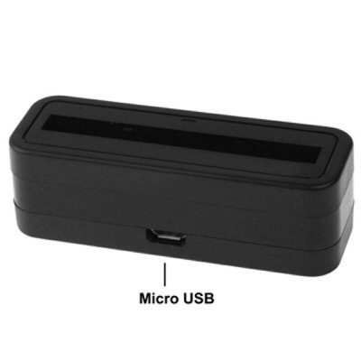 Гаджет   Micro USB Output Sync Cradle Desktop Charger for Samsung Galaxy S4 SIV I9500 I9505 Samsung Chargers