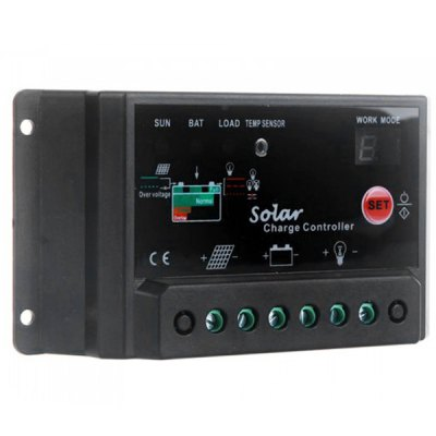 Фотография TSTB  -  10A 12 / 24V Solar Charge Controller with Light Timer Control Function