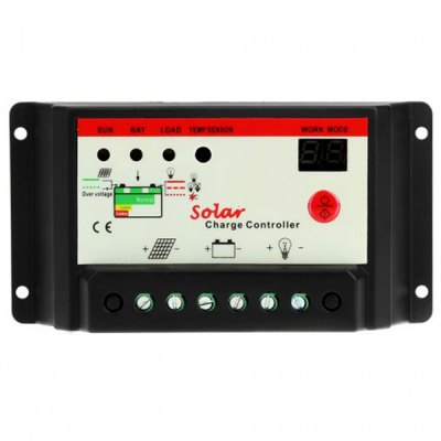 Фотография TSMT  -  10A 12 / 24V Solar Charge Controller with Light Timer Control Function