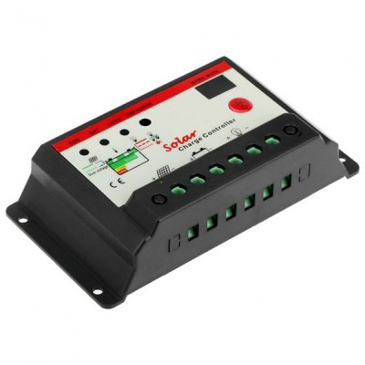 Гаджет   TSMT  -  20A 12 / 24V Solar Charge Controller with Light Timer Control Function Home Gadgets