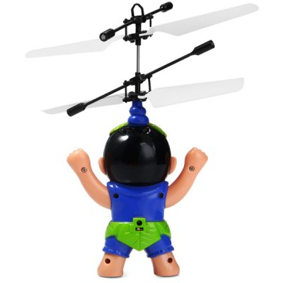 Фотография 517 RC Helicopter Calabash Boy Style Infrared Sensor Remote Control Plane with Automatic Suspension Function