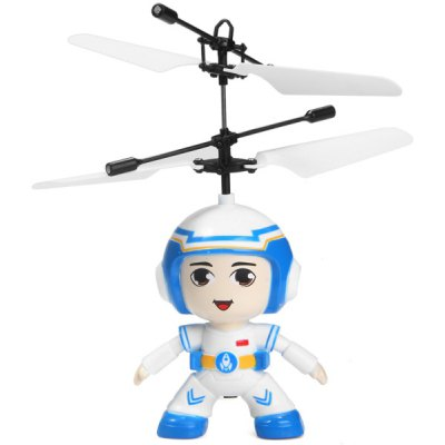 687 Infrared Control RC Helicopter Pilot Shape Intellisense Copter