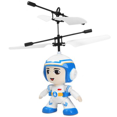 687 RC Helicopter Pilot Style Infrared Sensor Remote Control Plane with Automatic Suspension Function