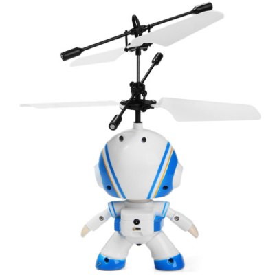 Фотография 687 RC Helicopter Pilot Style Infrared Sensor Remote Control Plane with Automatic Suspension Function