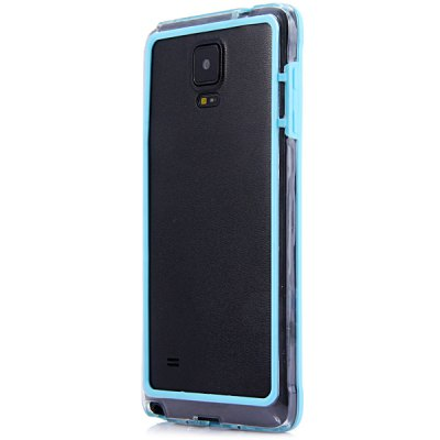 Гаджет   Stylish Frame Style Plastic Bumper Case for Samsung Note 4 Samsung Cases/Covers