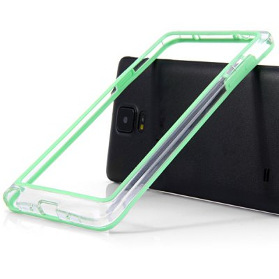 Stylish Frame Style Plastic Bumper Case for Samsung Note 4