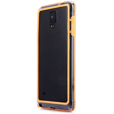 ФОТО Stylish Frame Style Plastic Bumper Case for Samsung Note 4
