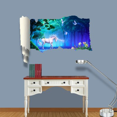 Dream Wonderland Pattern Home Appliances Decoration 3D Wall Sticker