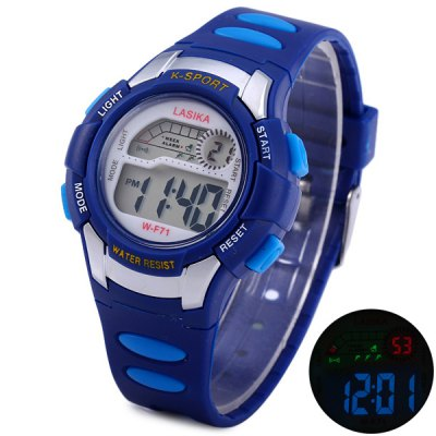 Lasika K - sport F71 LED Watch Water Resistant Stopwatch for Sport