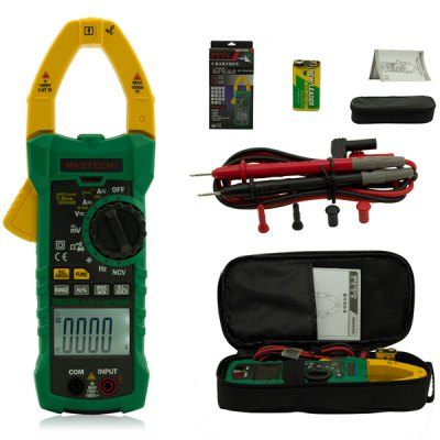 Гаджет   MASTECH MS2115A Digital Clamp Meter Inrush Current 6000 Counts True RMS Data Holding Multimeters & Fitting