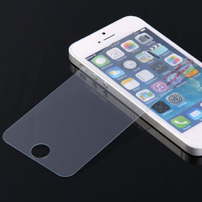 0.26mm 9H Hardness Practical Tempered Glass Screen Protector for iPhone 5S SE