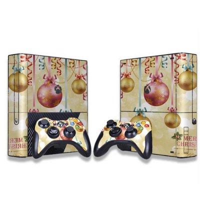 Фотография Christmas Bell Style Game Console Gamepad Controller Stickers Skin for Xbox 360E