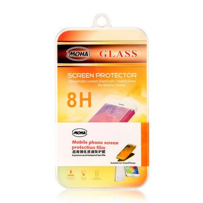 Фотография 0.3mm Thickness Practical Phone Tempered Glass Screen Protector for iPhone 4 4S