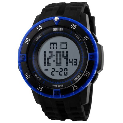 Фотография Skmei 1089 Multifunctional Military LED Watch Water Resistant for Outdoor Sports
