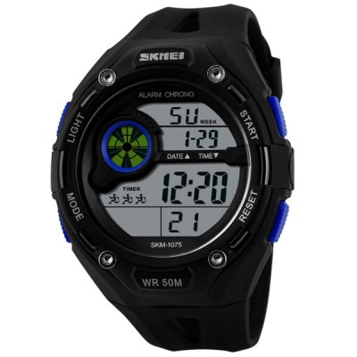 Гаджет   Skmei 1075 Multifunctional Military LED Watch Water Resistant Outdoor Sports Wristwatch Sports Watches