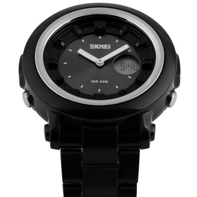 Фотография Skmei 1062 Military Outdoor Sports LED Watch Water Resistant Multifunctional Wristwatch
