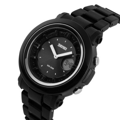 Skmei 1062 Military Outdoor Sports LED Watch Water Resistant Multifunctional Wristwatch