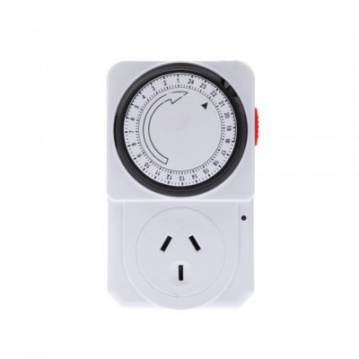 24 Hours Mechanical Electrical Plug Program Timer Power Switch