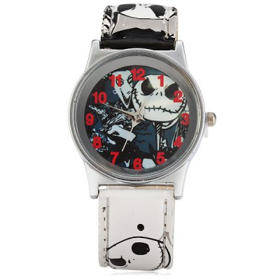 Фотография Children Quartz Watch Cartoon Style Leather Band Wristwatch