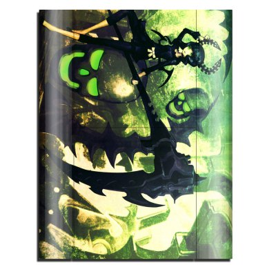 Фотография Cover Skin Stickers for PS3 Game Console and Controllers with Dead Master Figure Pattern