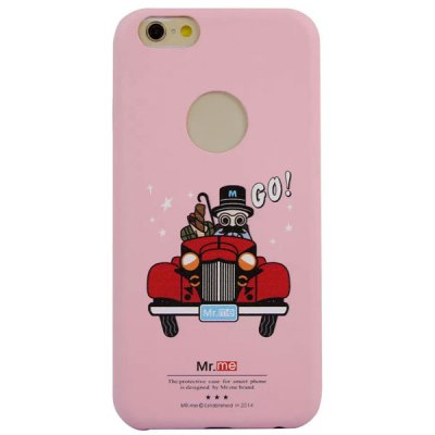 Фотография Practical PU Material Mr.me Pattern Back Cover Case for iPhone 6  -  4.7 inch