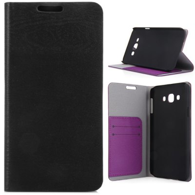 Гаджет   Practical PU and PC Material Wood Grain Pattern Cover Case for Samsung Galaxy E7 E7000 Samsung Cases/Covers
