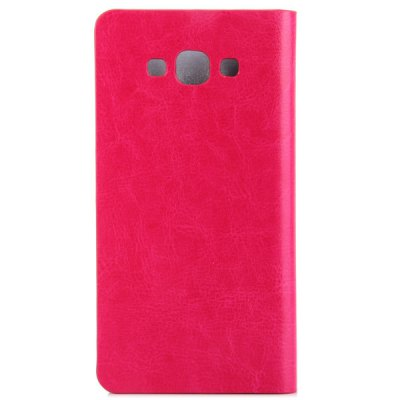 Фотография Practical PU Leather and Plastic Material Support Cover Case for Samsung Galaxy E7 E7000