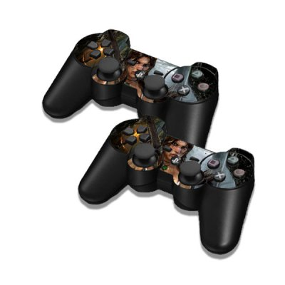 Фотография Cover Skin Stickers for PS3 Game Console and Controllers with Tomb Raider Player Camilla Pattern