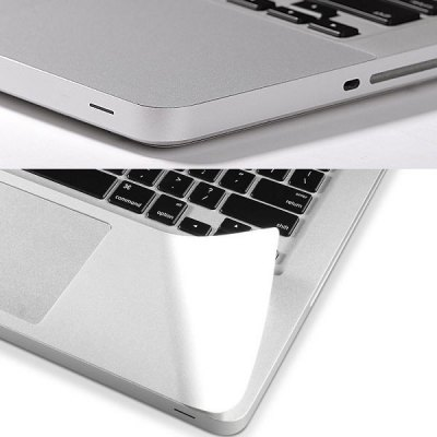 Palm Guard Protective Film with Heat Resistant Material for Macbook Air 15.4Mac Keyboards<br>Palm Guard Protective Film with Heat Resistant Material for Macbook Air 15.4<br><br>For: Mac<br>Compatible for Apple: Macbook Air 15.4<br>Features: Dirt-resistant<br>Material: Polycarbonate<br>Style: Transparent<br>Color: White<br>Product weight : 0.050 kg<br>Package weight : 0.06 kg<br>Product size (L x W x H): 35 x 10 x 0.1 cm / 13.76 x 3.93 x 0.04 inches<br>Package size (L x W x H) : 40 x 13 x 0.5 cm / 15.72 x 5.11 x 0.20 inches<br>Package contents: 1 x Palm Guard