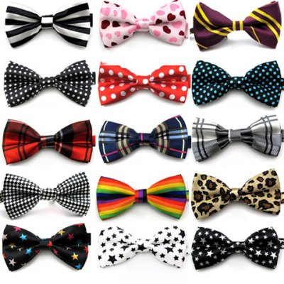Hot Sale Mixed Pattern Bow Tie For Men
