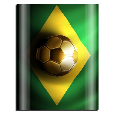 Гаджет   Cover Skin Stickers for PS3 Game Console and Controllers Brazilian Flag Pattern Video Game