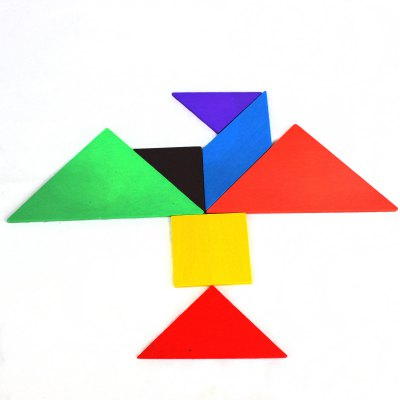 Educational Wooden Tangram Toy Simple Jigsaw Puzzle for Animal Boat HumanLogic &amp; Puzzle Toys<br>Educational Wooden Tangram Toy Simple Jigsaw Puzzle for Animal Boat Human<br><br>Age: 3 Years+<br>Applicable gender: Unisex<br>Design Style: Tangram/Jigsaw Board<br>Features: Educational, DIY<br>Material: Wood<br>Package Contents: 1 x Tangram<br>Package size (L x W x H): 17 x 17 x 1.6 cm / 6.68 x 6.68 x 0.63 inches<br>Package weight: 0.120 kg<br>Product size (L x W x H): 16 x 16 x 0.6 cm / 6.29 x 6.29 x 0.24 inches<br>Product weight: 0.060 kg<br>Puzzle Style: Tangram/Jigsaw Board<br>Small Parts : No<br>Type: Intelligence toys<br>Washing: Yes