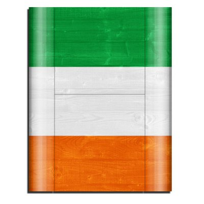 Cover Skin Stickers for PS3 Game Console and Controllers with Irish Flag Pattern