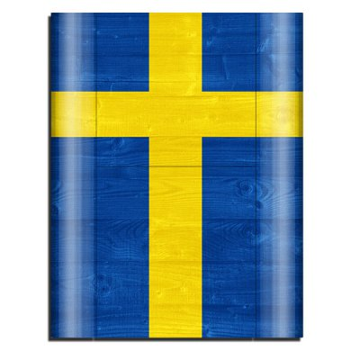 Гаджет   Cover Skin Stickers for PS3 Game Console and Controllers with Swedish Flag Pattern Video Game