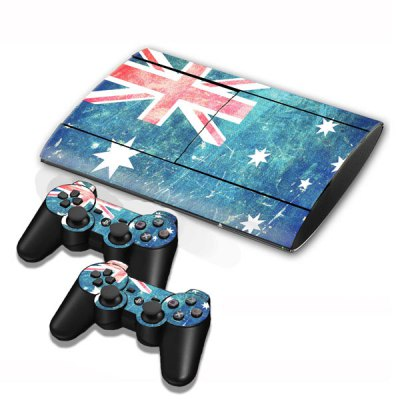 BY-1-03-01-0017 PS3 Remote Controller and Playstation Stickers