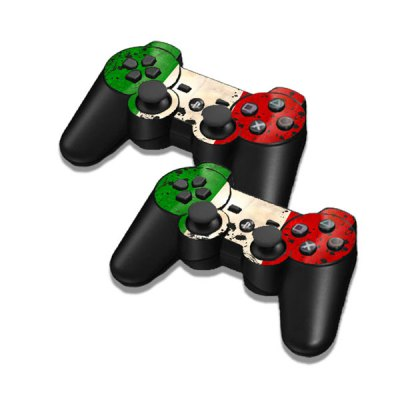 Фотография Cover Skin Stickers for PS3 Game Console and Controllers with Italian Flag Pattern