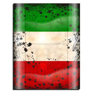 Cover Skin Stickers for PS3 Game Console and Controllers with Italian Flag Pattern
