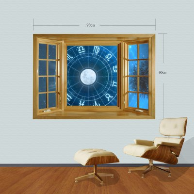 Фотография Constellation Style 3D Wall Sticker with Vinyl Material for Living Room