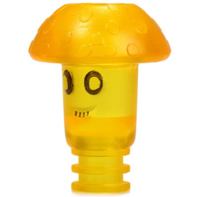 Mushroom Head Style Plastic E - Cigarette Drip Tip MouthpieceAccessories<br>Mushroom Head Style Plastic E - Cigarette Drip Tip Mouthpiece<br><br>Type: Electronic Cigarettes Accessories<br>Accessories type: Drip Tip<br>Material: Plastic<br>Available Color: Green, Yellow, Transparent, Black, Light Blue, Red, Blue<br>Product weight  : 0.003 kg<br>Package weight   : 0.025 kg<br>Product size (L x W x H)  : 2.6 x 2.2 x 2.2 cm / 1.02 x 0.86 x 0.86 inches<br>Package size (L x W x H)  : 3.6 x 3 x 3 cm / 1.41 x 1.18 x 1.18 inches<br>Package Contents: 1 x Drip Tip