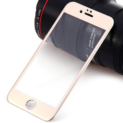 Practical 0.25mm 12H Hardness Titanium Alloy Tempered Glass Screen Protector for iPhone 6  -  4.7 inch