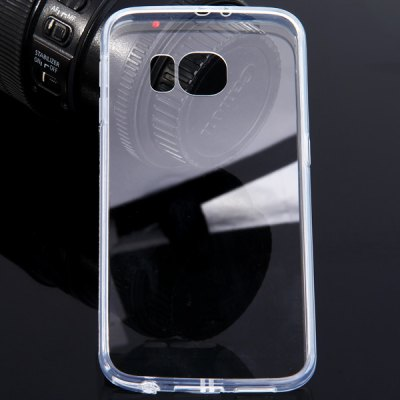 Фотография Acrylic Material Transparent Phone Back Cover Case for Samsung Galaxy S6 G9200