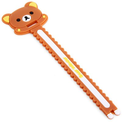 Practical Cable Cord Wrap Manager Earphone Cable Winder with Bear Design