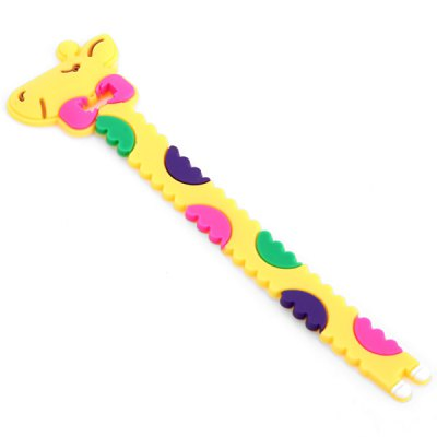 Practical Cable Cord Wrap Manager Earphone Cable Winder with Giraffe Design