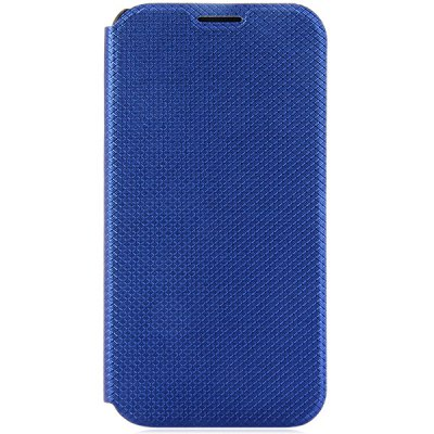Grid Pattern Style PU and PC Material Cover Case for Samsung Galaxy S6 G9200