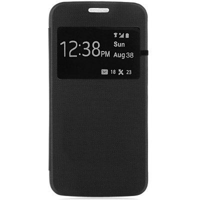 Фотография PU and PC Material View Window Design Cover Case for Samsung Galaxy S6 G9200
