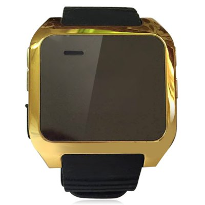 V9 Metal Case Silicone Band OLED Screen Camera Remote Call Reminding Smart Watch